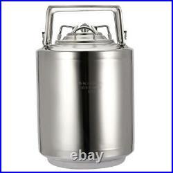 10L Household 304 Stainless Steel Beer Barrel Beverage Keg Home Beer Brewing DP