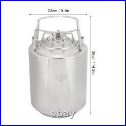 10L Household Stainless Steel Beer Barrel Beverage Keg Home Beer Brewing Tools
