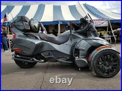 2014-2020 Can- Am Spyder F3-T RLS exhaust Double barrel series black/polished