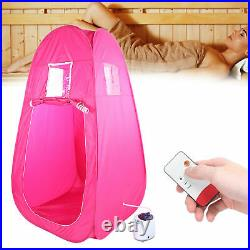 2L Portable Steam Sauna Tent SPA Slimming Loss Weight Body Detox Therapy Machine