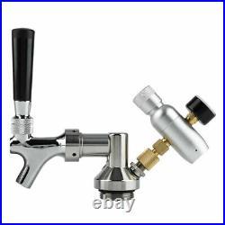 2L Stainless Steel Mini Beer Keg with Faucet Pressurized Beer Barrel Bucket