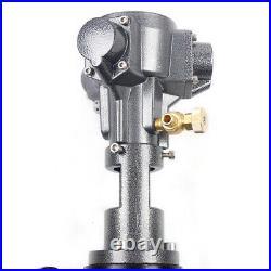 50 Gallon Stainless Steel 1/2HP Mixer Tank Barrel Air Mix Pneumatic Clip Bracket