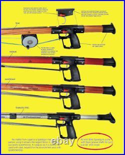 AB Biller Stainless Steel Speargun Spearfish 42 Special Spear A. B. Barrel Scuba