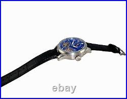 Adee Kaye Men's 45 Jewel Double Barrel Automatic Watch AK5663-MBU