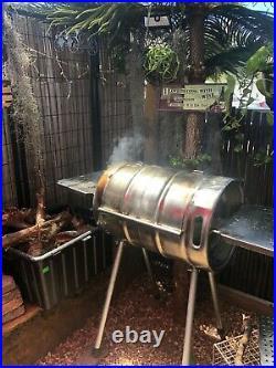 Amazing Beer Keg Grill