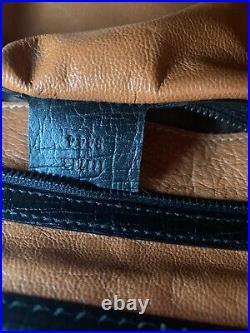 Authentic Gucci Medium Bamboo Barrel Leather Black Handbag