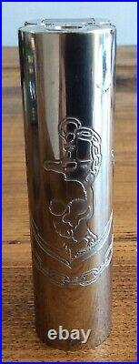 Authentic Squid industries double barrel v3 CNC ltd edition stainless steel 150w