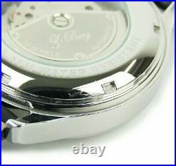 B-Barrel Retrograde BBX-009 2Hands Black Dial Automatic Men's Watch