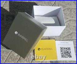 Barrel BA 4008 03 Slick 45mm Black and Gray Dial Tide Date Watch