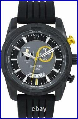 Barrel BA 4008 03 Slick Tide indicator 45mm BLACK Dial Mens Watch