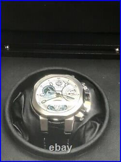 CLERC Odyssey S Silicium Twin Barrel Swiss Automatic 6 Day Power Reserve 44mm
