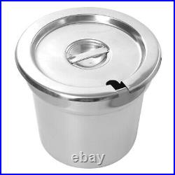 Catering Electric Hot Food Heating Bain Marie 2/6 Round Pots Food Barrel Warmer