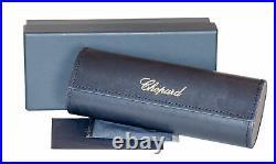 Chopard Cateye Sunglasses SCHC16S 301P Gold/Black Polarized 57mm C16