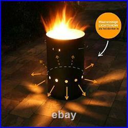 Design Fire Barrel Corten Steel & Stainless Steel XL (50x45cm)