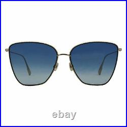 Dior Buttefly Sunglasses DIORSOCIETY1 J5G84 Gold 60mm DIORSOCIETY1
