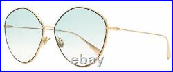 Dior Butterfly Sunglasses Society 4 DDBJP Copper Gold 61mm