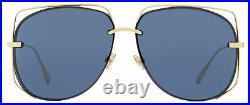 Dior Halo Sunglasses Stellaire 6 J5GA9 Gold 61mm