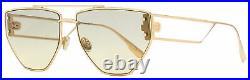 Dior Low Profile Sunglasses Clan 2 DDB1I Gold-Copper 61mm