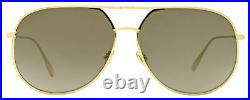 Dior Pilot Sunglasses DiorByDior 00086 Gold 60mm By Dior
