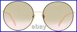 Dior Round Sunglasses Society 2F DDB86 Copper Gold 60mm