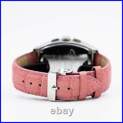 Elini New Yorker XL Diamond Bezel Tonneu Barrel Chrono Ladies Watch NO. DA-231