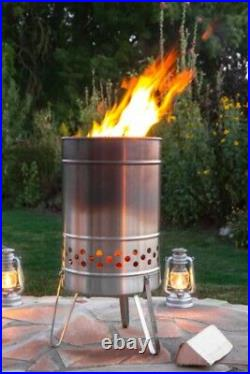 Feuerhand Fire Pyron Stainless Steel Grill