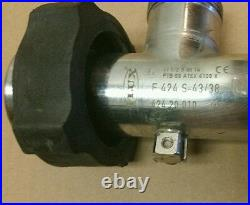 Flux Stainless Steel Tubeset F424 S-43/38 High Volatility Barrel Pump LOOK