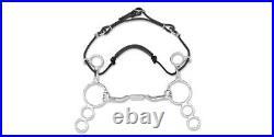 GENUINE Myler 3 Ring MB06 Combination Bit Low Port Mullen Barrel Horse Bit