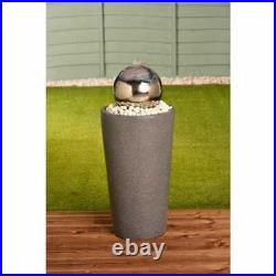 Gazing Ball Tower Water Feature