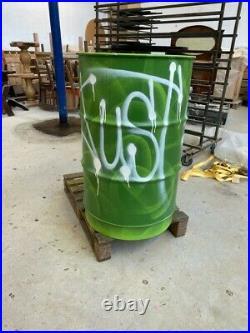 Graffiti barrels