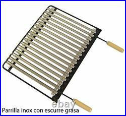 IMEX EL ZORRO 71514 Barbecue Tray with Stainless Steel Grill Pan