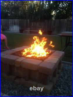 ITCK+ Kit DIY Build Your Own Propane Wine Barrel Fire Table Kit with Tank-In-Table