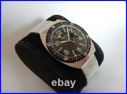 Lady Tobar Skin Diver Barrel Automatic Fe 5611 N. O. S. 70 strap Milanese