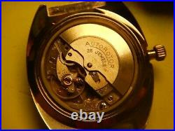 Lady Tobar Skin Diver Barrel Automatic Puw 1463 N. O. S. 70 strap Carbon
