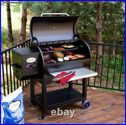 Louisiana Grills LG900C2 Barrel Wood Pellet BBQ Grill And Smoker + Shelf