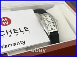 Michele Coquette Woman's Watch CQ01931 71-800 Barrel Face with Box Papers
