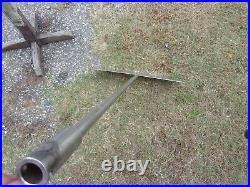 Mixer Tank Barrel Air Vat Agitator Stainless Steel Shaft 55 Ga Drum Paddle Drum