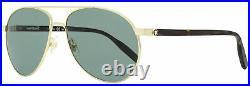 Montblanc Pilot Sunglasses MB0054S 002 Gold/Havana 60mm 54