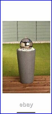 New Stainless Steel Glazing Ball Water Feature Mason & Jones