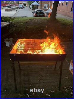 Oil barrel bbq grill