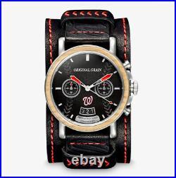 Original Grain 44mm Barrel MLB World Series Limited Edition Quartz Watch