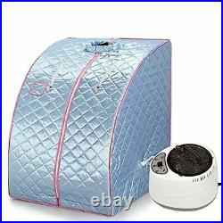 Portable Steam Sauna Home Generator Slimming Household Box Ease Stainless Steel