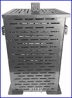 Professional Grade Products 9900000 High Grade Stainless Steel Burn Barrel 24x14