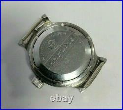 Rare Watch Vostok Barrel 2209 SU Amphibian Diver USSR Vintage Soviet SERVICED