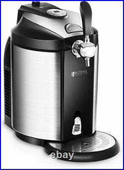 Royal Catering Beer Dispenser Beer Handle with Cooling For All 5L Barrels