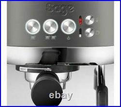 Sage The Bambino Plus Espresso Coffee Machine Gun Barrel Grey & Chrome