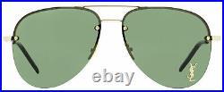 Saint Laurent Aviator Sunglasses Classic 11 M 003 Gold/Black 59mm YSL