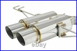 Skunk2 Mega Power Double Barrel (DB) Exhaust system Civic Type R FK8 18-21 F20C1