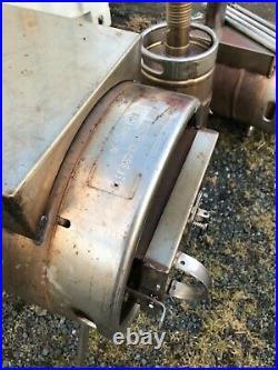 Stainless 10 Gallon Keg Wood Stove Barrel Burner Camping Shop Stove