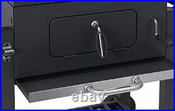 Tepro Grillwagen Toronto Click Charcoal Barbecue, Anthracite/Stainless Steel
